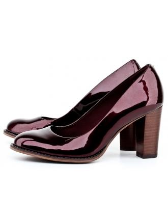 Clarks women's maroon pumps