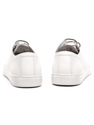 Sneakersy Męskie Armani Jeans Białe 30 C6527 74 F1 WHITE