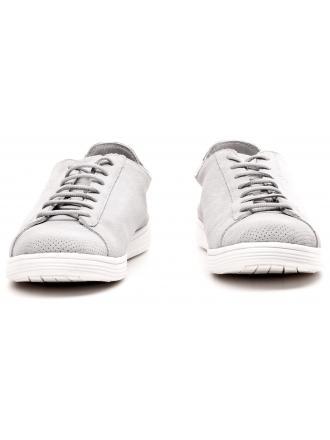 Sneakersy Męskie Armani Jeans Szare Skórzane 30 C6507 47 2W GREY