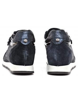 Sneakersy Damskie IMAC Granatowe Skórzane 40 63371 72101 / 009 BLUE