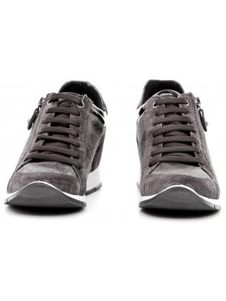 Sneakersy Damskie IMAC Szare Skórzane 40 63371 72104 / 018 GREY