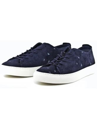 Sneakersy Męskie Armani Jeans Granatowe 30 935036 7P433 36435 BLUE 1541