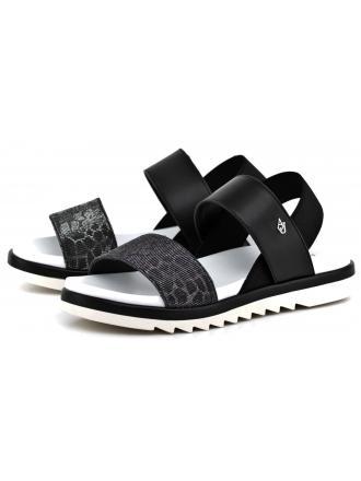 Sandały Damskie Armani Jeans Czarne 30 925133 7P532 00020 NERO