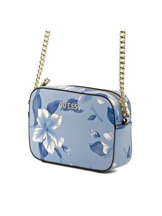 Listonoszka Damska GUESS Niebieska W Kwiaty 22 HWISAH P7212 BLM