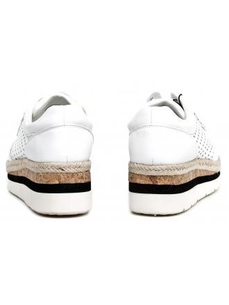 Espadryle Damskie Armani Jeans Białe 30 925166 7P555 00010 BIANCO