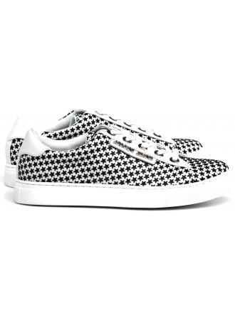 Sneakersy Damskie Armani Jeans Biało-Czarne 30 925198 7P587 01610 BIANCO/NERO