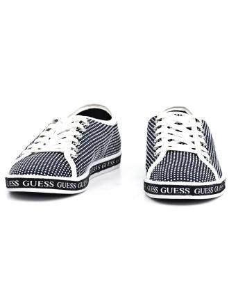 Sneakersy Damskie GUESS Granatowe LEDA 22 FLLED2 FAP12 BLUE