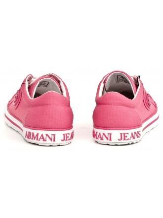 Sneakersy Damskie Armani Jeans Różowe 30 925225 7P614 08170 LOGHT GERANIO