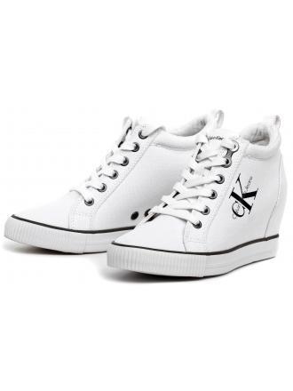 Sneakersy Damskie Calvin Klein Jeans Białe Ritzy R3551 White