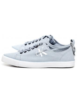 Sneakersy Damskie Calvin Klein Jeans Błękitne Dora R3556 Chambray