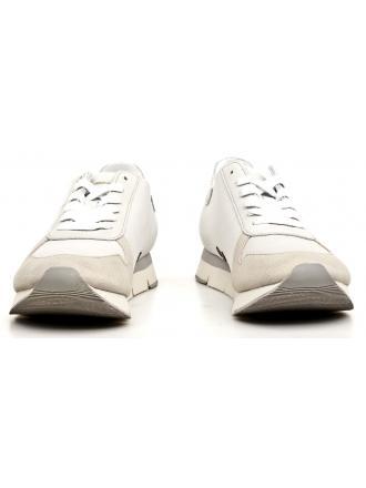 Sneakersy Męskie Calvin Klein Jeans Białe Hachi S1670 White