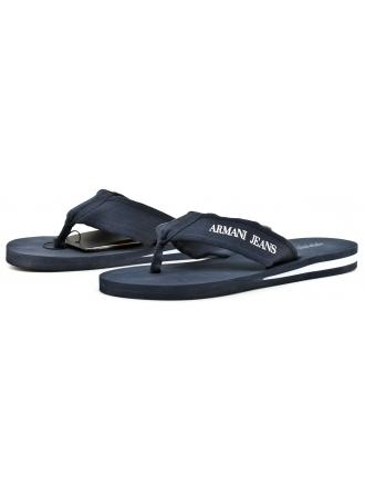 Japonki Męskie Armani Jeans Granatowe 30 935093 7P447 36435 BLUE