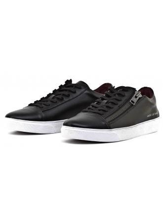 Sneakersy Męskie GUESS Czarne HERRY 22 FMHER3 ELE12 BLACK