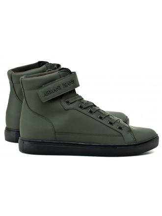 Sneakersy Męskie Armani Jeans Zielone 30 935043 7A402 12985 DARK GREEN