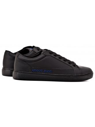 Sneakersy Męskie Armani Jeans Czarne 30 935042 7A402 00020 NERO