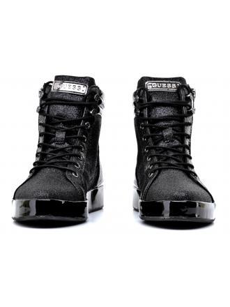 Sneakersy Damskie GUESS Czarne VANDA FLVND4 FAM18 BLACK