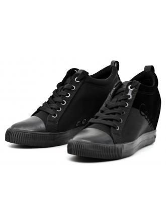 Sneakersy Damskie Calvin Klein Jeans Czarne Rory R0647 BLACK