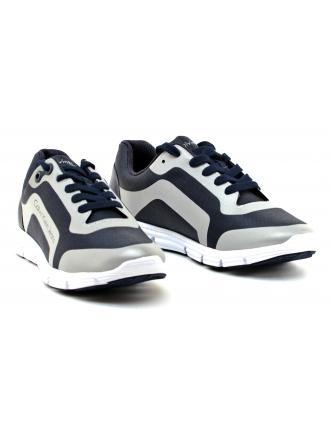 Sneakersy Męskie Calvin Klein Jeans Granatowe Morris S0502 INDIGO/SILVER