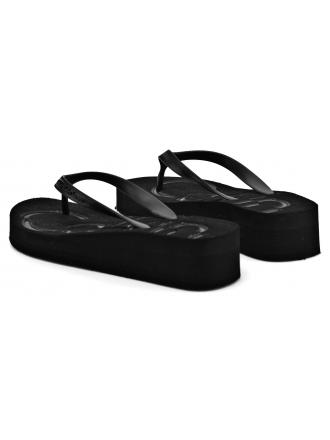 Japonki Damskie Calvin Klein Jeans Czarne Tamber R4117 Black