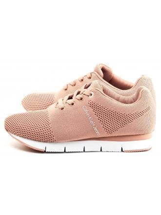 Sneakersy Damskie Calvin Klein Jeans Pudrowe Tada R8960 Dusk