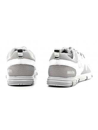 Sneakersy Męskie Calvin Klein Jeans Szare Murphy SE8525 SILVER/WHITE