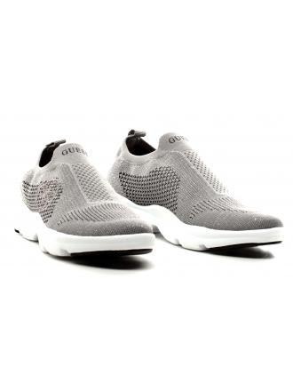 Sneakersy Damskie GUESS Srebrne SPICED FLSPC2 FAM12 SILVE