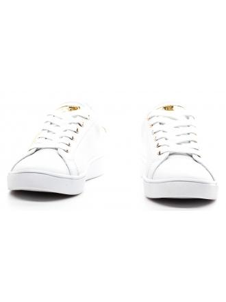 Sneakersy Damskie GUESS Białe Skórzane BOBO FLBOB2 LEA12 WHIGO