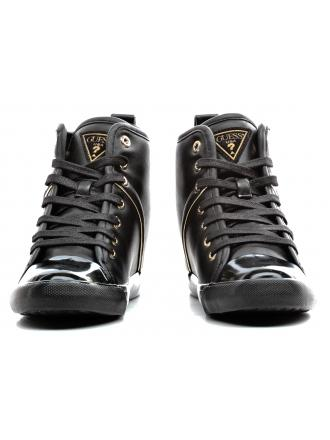 Sneakersy Damskie GUESS Czarne JILLY FLJLY3 ELE12 BLACK