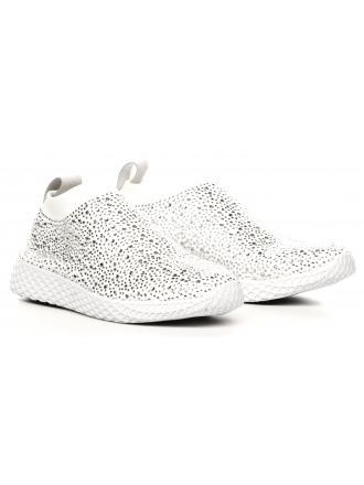 Sneakersy Damskie Venezia Białe 04 UP708 CAL BIA