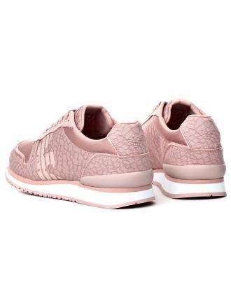 Sneakersy Damskie Emporio Armani Pudrowe X3X049 XL201 C331 NUDE