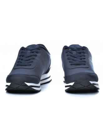 Sneakersy Męskie Calvin Klein Jeans Granatowe Elwin SE8592 Navy/Metal Blue