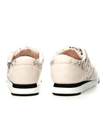 Sneakersy Damskie Calvin Klein Jeans Pudrowe Tabata RE9801 Pink