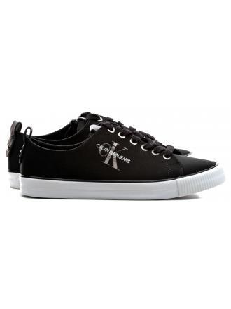 Sneakersy Damskie Calvin Klein Jeans Czarne Dora RE9789 Black