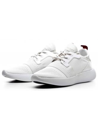 Sneakersy Damskie Calvin Klein Jeans Białe Meryl RE9809 White
