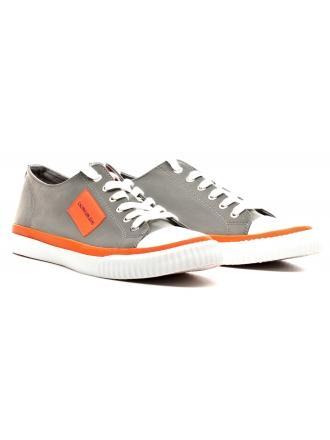 Sneakersy Męskie Calvin Klein Jeans Szare Iziceio S1730 Silver