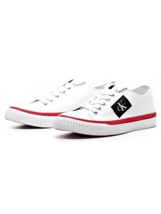 Sneakersy Męskie Calvin Klein Jeans Białe Iziceio S1731 White