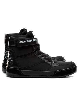 Sneakersy Męskie Calvin Klein Jeans Czarne Nigel S1772 Black