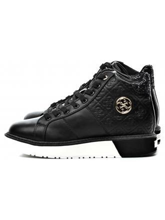 Sneakersy Damskie GUESS Czarne DEBBY FLDBY3 PEL12 BLACK