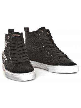 Sneakersy Damskie GUESS Czarne PYKE FLPYE4 FAM12 BLACK