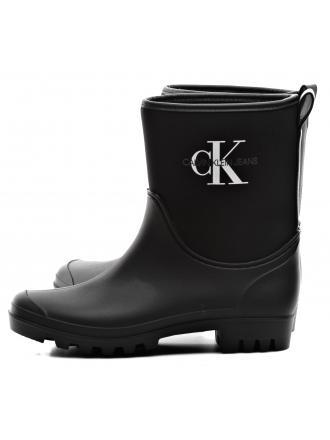 Kalosze Damskie Calvin Klein Jeans Czarne Philippa RE9811 BLACK