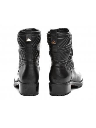 Kozaki Damskie Emporio Armani Czarne X3M255 XF259 00002 BLACK