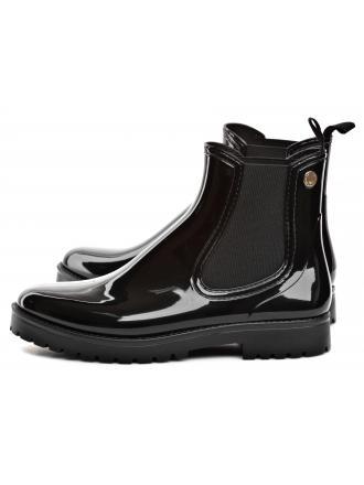Sztyblety Damskie Emporio Armani Czarne X3M276 XF304 K001 BLACK/BLACK
