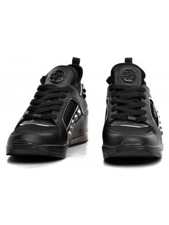 Sneakersy Damskie GUESS Czarne JULYANN FL5JUL FAB12 BLACK