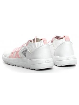 Sneakersy Damskie GUESS Białe VELLER FL6VEL FAB12 WHITE