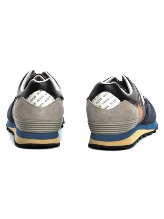Sneakersy Męskie GUESS Granatowe CHARLIE FM5NCH FAP12 BLUE
