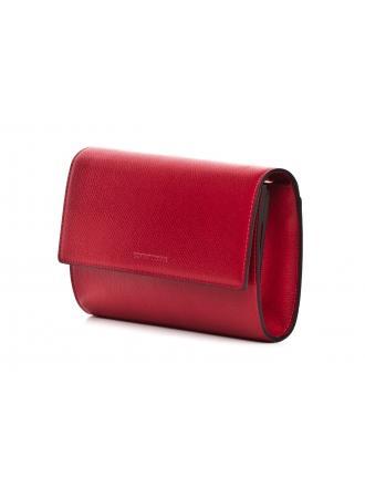 Listonoszka Damska Emporio Armani Czerwona Y3H186 YH15A 83917 RUBY RED / DARK BLUE