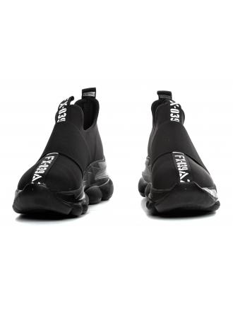 Sneakersy Damskie Venezia Czarne 02261905 BLACK