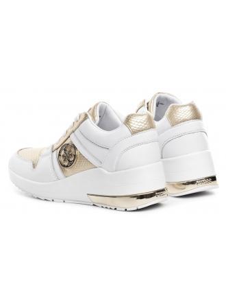 Sneakersy Damskie GUESS Białe JOYD FL7JOY ELE12 GOWHI