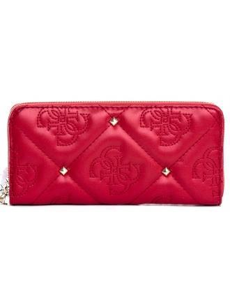 Portfel Damski GUESS Czerwony S SHANINA SWVG74 32460 LIP