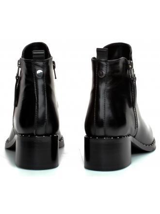 Botki  Damskie Venezia Czarne LILY1902 BLACK